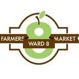 logo for Ward 8 Farmer's Market and Congrss Heights/ MLK Community Garden