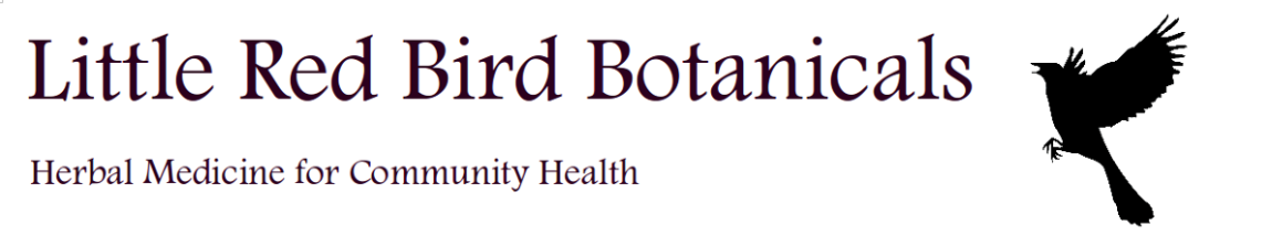 logo for Little Red Bird Botanicals